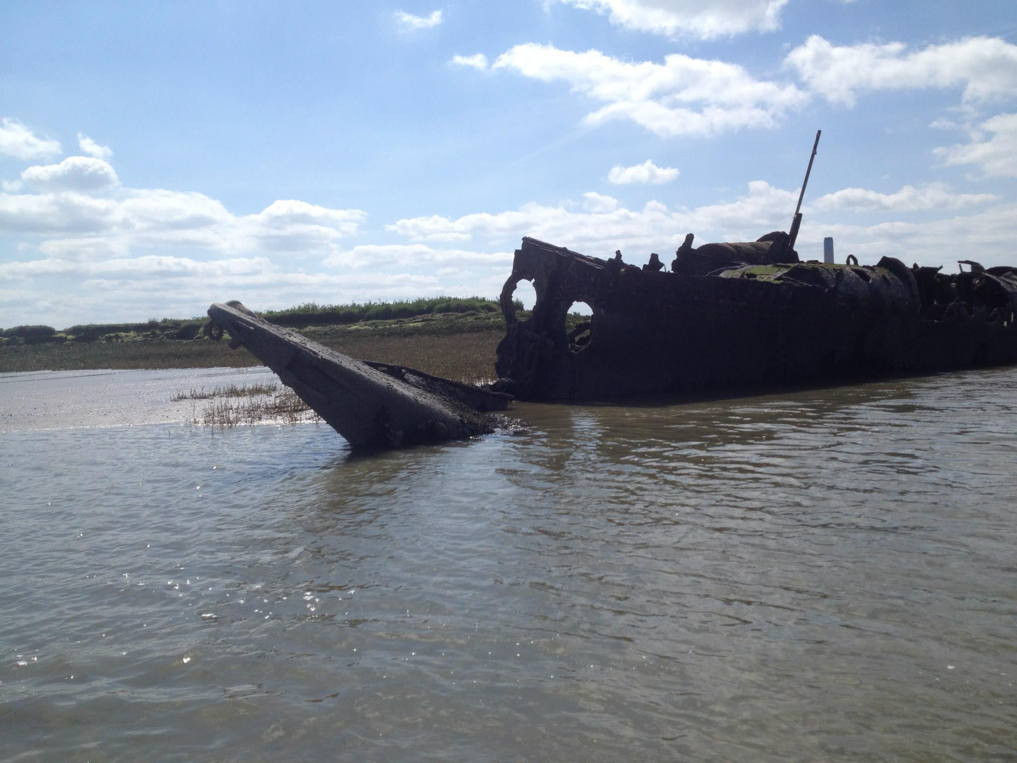 Have you visited the WW1 german submarine wreck? | Medway Yacht Club