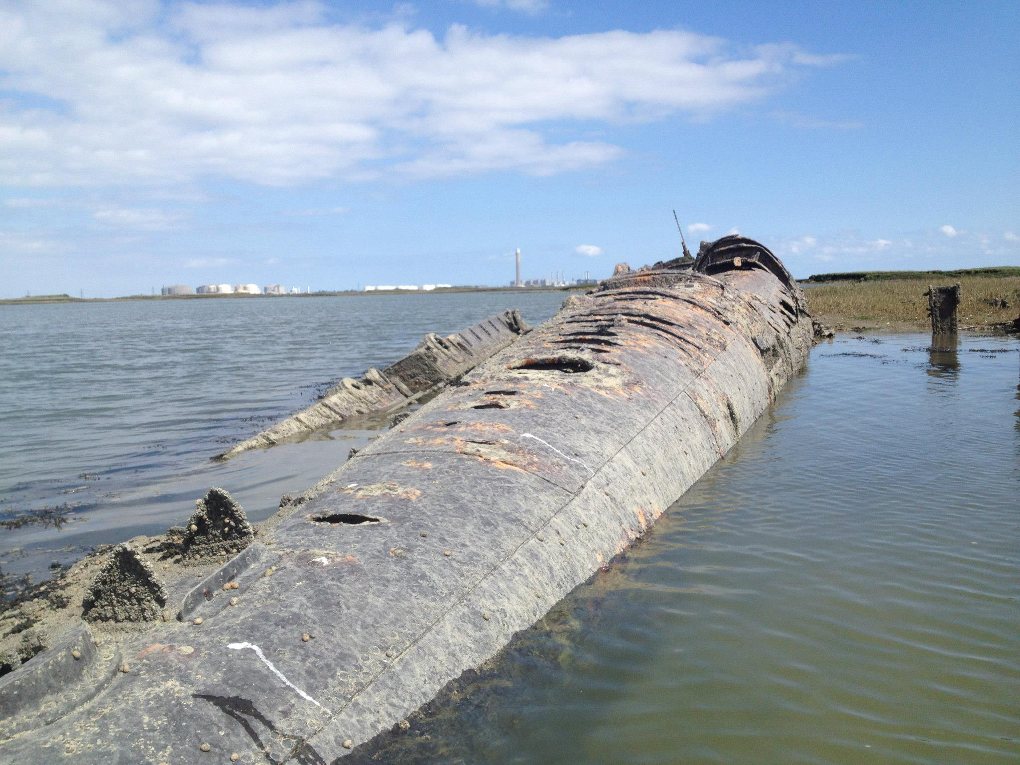Have you visited the WW1 german submarine wreck? | Medway