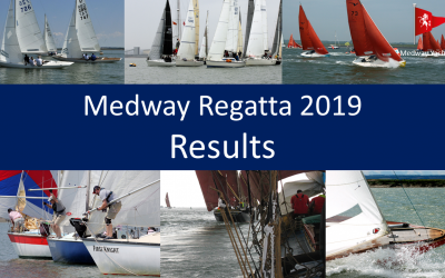 Medway Regatta 2019 ~ Final Results