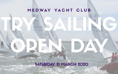 Cancelled – TRY SAILING OPEN DAY
