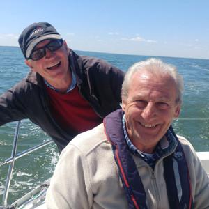 Bob Turk and John Marshall