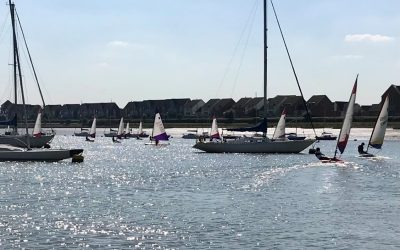 Medway Yacht Club  L&SE Topper Traveller ~ Sunday 9th May 2021