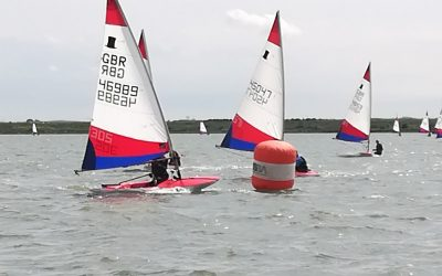 Medway Yacht Club London and SE Topper Traveller, Sunday 9th May 2021