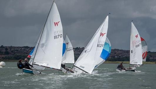 Wayfarer UK National Championships at Medway © Paul Babington